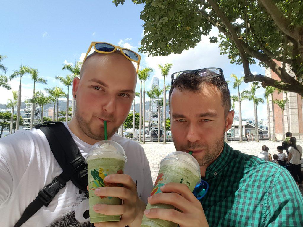 Zielone latte