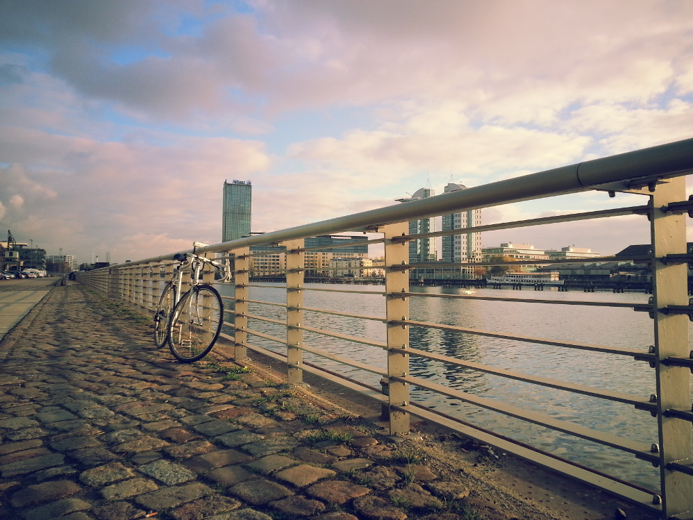 Berlin - Fawela i promenada
