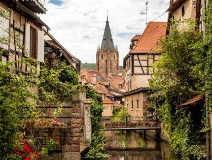 Wissembourg - Bajkowe miasteczko we Francji