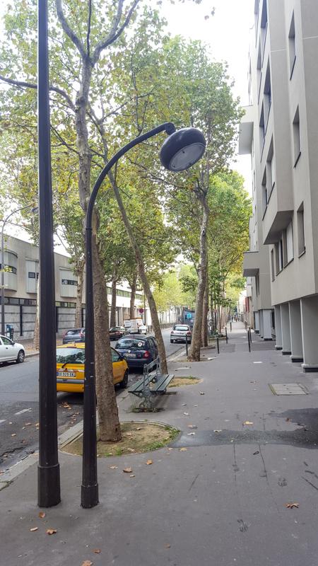 Latarnie w paryżu