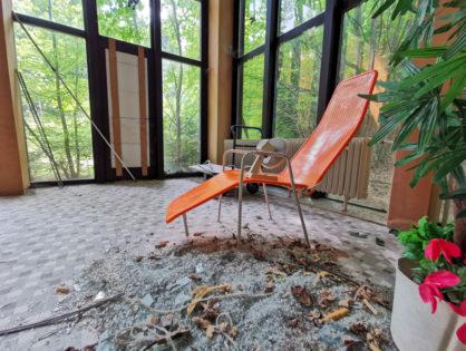 Szwarcwald - opuszczony hotel