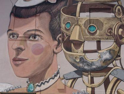 Street art w Lizbonie