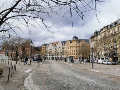 Wirtualny spacer po Metz [cz.1]