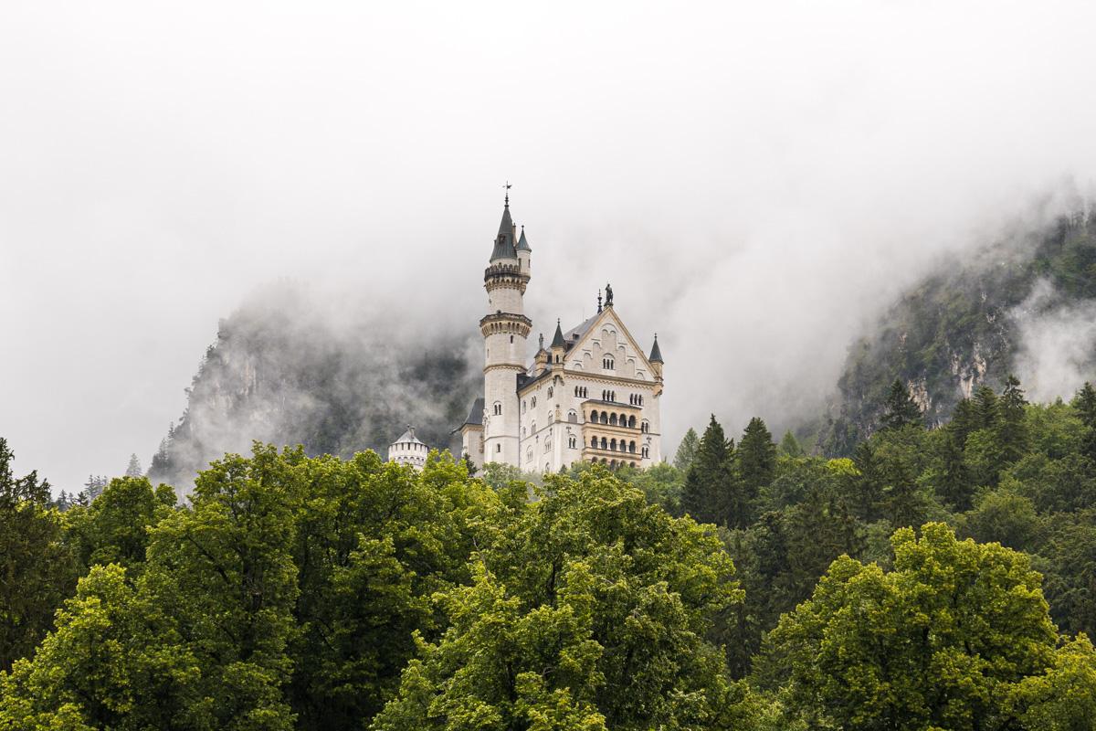 Neuschwanstein – naga i mokra prawda [cz.1]