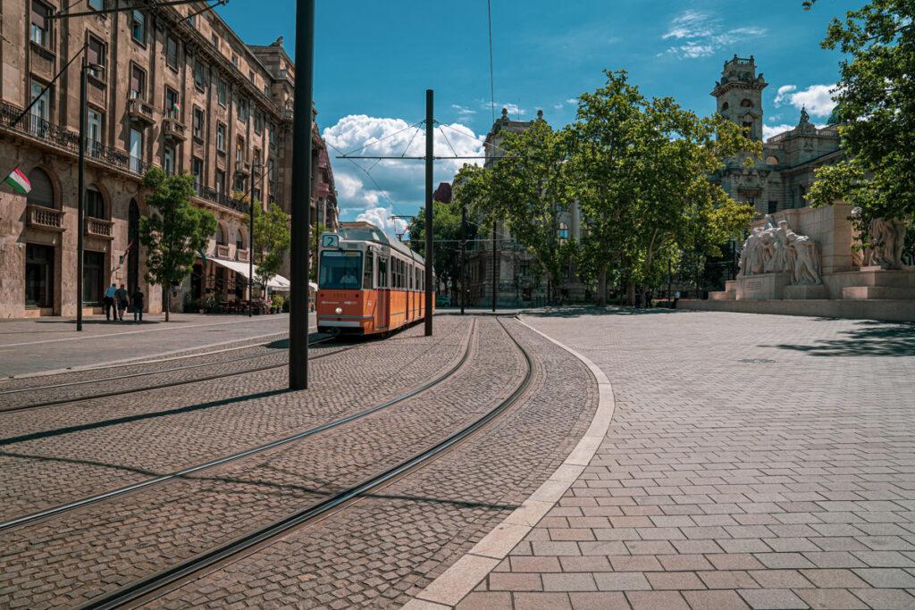 Tramwaj w Budapeszcie
