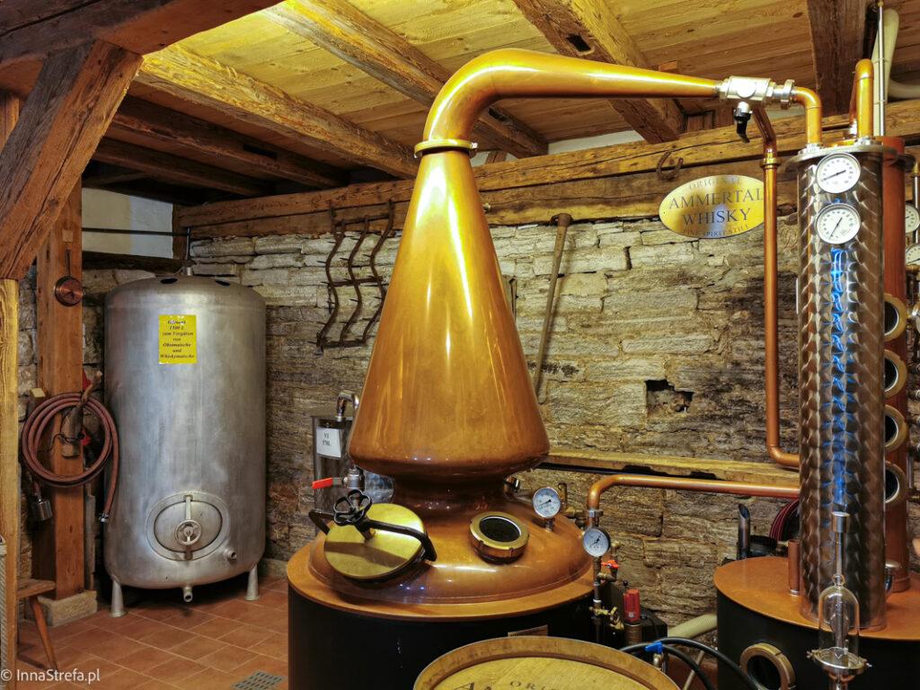destylacja szwabskiej whisky
