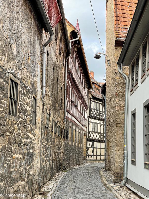 średniowieczne uliczki