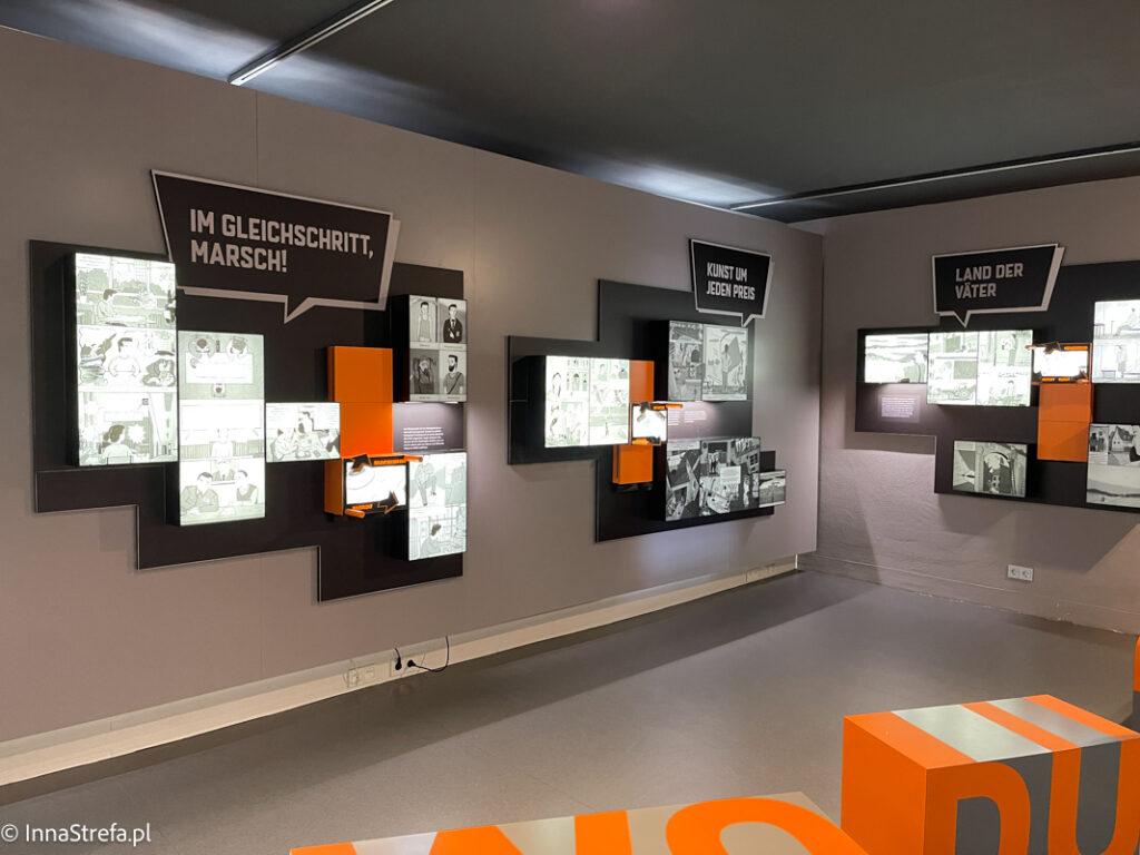 Interaktywna część wystawy