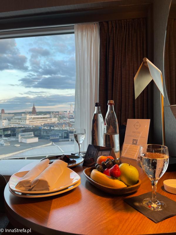 Poczęstunek Hilton Frankfurt
